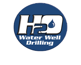 Header logo for H20 Well Drilling